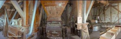 Historische Mühle Nespen